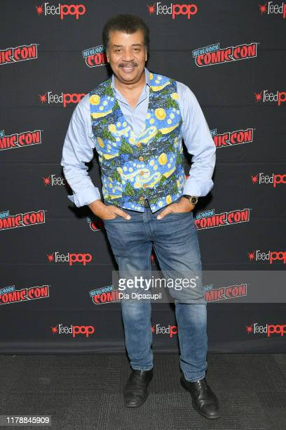 Neil deGrasse Tyson attends the New York Comic Con at Jacob K. Javits Convention Center on October 03, 2019 in New York City.