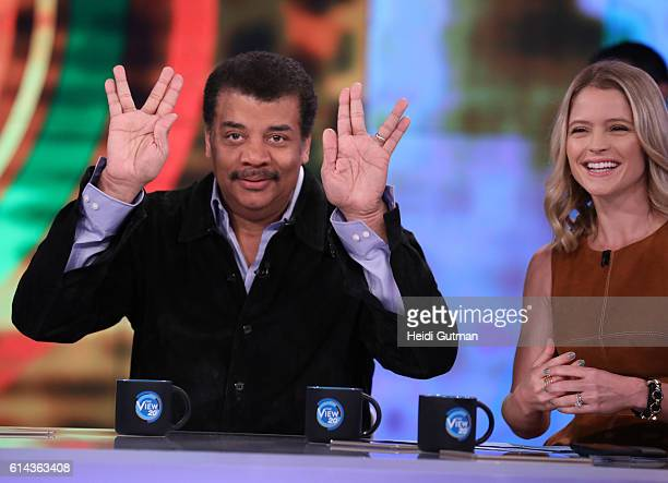 THE VIEW Neil Degrasse Tyson is a guest Thursday October 13 on Walt Disney Television via Getty Images's The View The View airs MondayFriday on the...