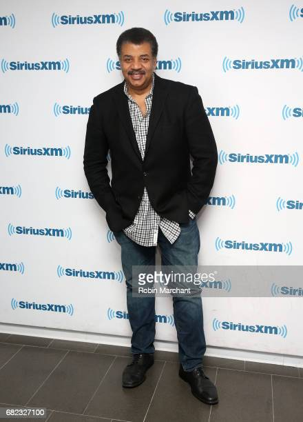 Neil deGrasse Tyson visits at SiriusXM Studios on May 12 2017 in New York City