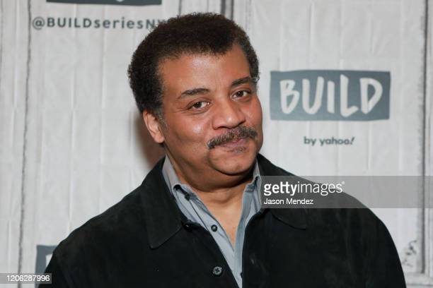 Neil deGrasse Tyson visits Build at Build Studio on March 9, 2020 in New York City.