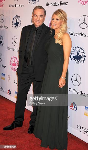Neil Diamond and Katie McNeil arrive at the 26th Anniversary Carousel Of Hope Ball presented by MercedesBenz at The Beverly Hilton Hotel on October...
