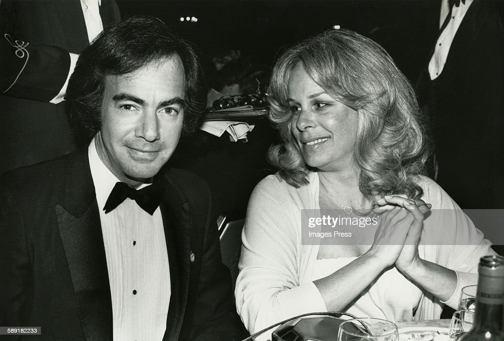 Neil Diamond and wife Marcia... : News Photo