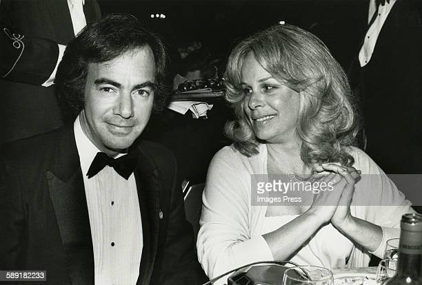 Neil Diamond and wife Marcia circa 1981 in New York City