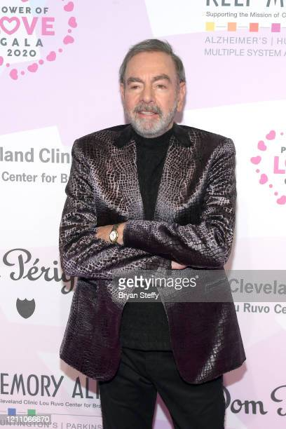 Neil Diamond attends the 24th annual Keep Memory Alive 'Power of Love Gala' benefit for the Cleveland Clinic Lou Ruvo Center for Brain Health at MGM...