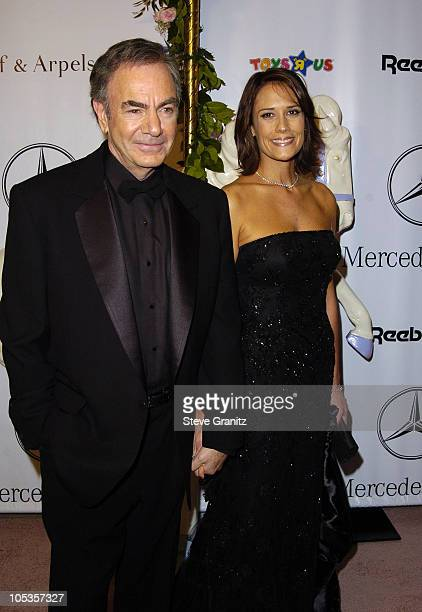 Neil Diamond during Mercedes Benz Presents the 16th Annual Carousel Of Hope Gala Arrivals at Beverly Hilton Hotel in Beverly Hills California United...