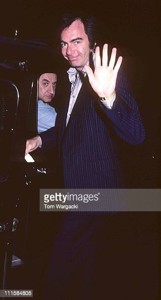 Neil Diamond during Neil Diamond at the Dorchester Hotel in 1980 at Dorchester Hotel in London Great Britain