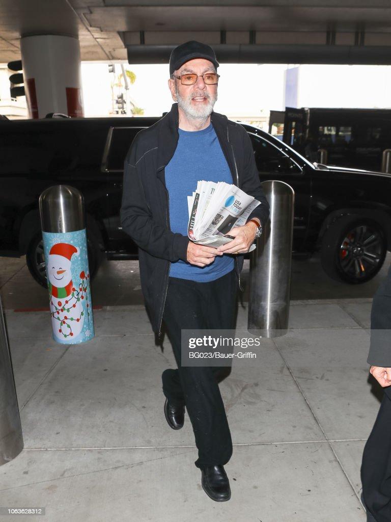 Celebrity Sightings In Los Angeles - November 19, 2018 : News Photo