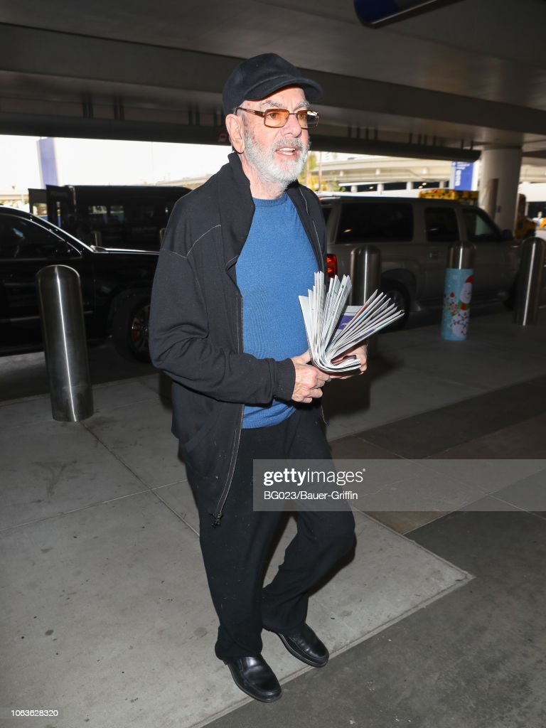 Celebrity Sightings In Los Angeles - November 19, 2018 : Foto jornalística
