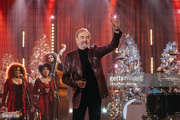 Neil Diamond performs during The Late Late Show with James Corden Wednesday December 14 2016 On The CBS Television Network