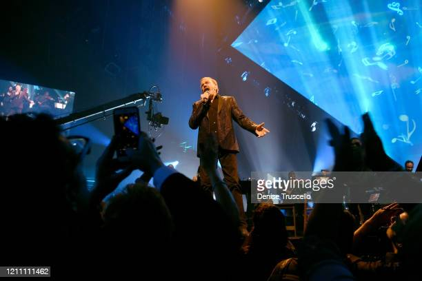 Neil Diamond performs onstage at the 24th annual Keep Memory Alive 'Power of Love Gala' benefit for the Cleveland Clinic Lou Ruvo Center for Brain...