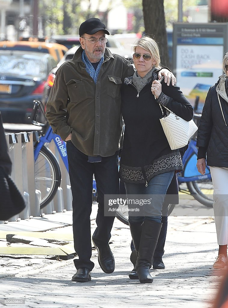 Celebrity Sightings in New York City - April 11, 2016 : News Photo