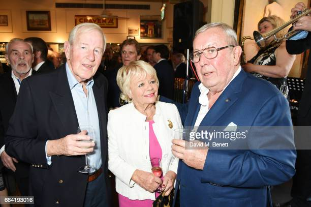 Neil DurdenSmith Judith Chalmers and Richard Shepherd attend a party celebrating 40 years of Langan's Brasserie on April 3 2017 in London England