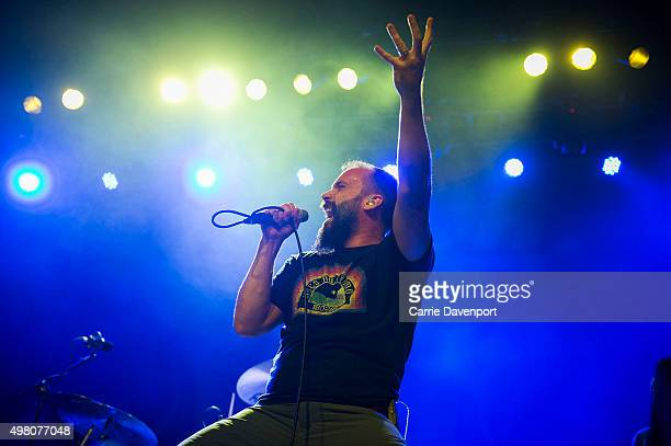 Neil Fallon of Clutch performs onstage at Olympia Theatre on November 20 2015 in Dublin Ireland