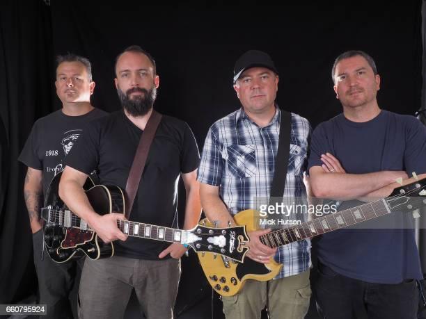 Neil Fallon Tim Sult Dan Marines JeanPaul Gaster of Clutch Download Festival Donington United Kingdom 11th March 2016