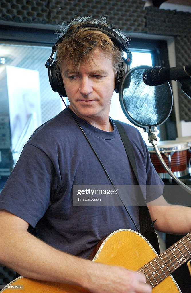 Neil Finn Portraits and Recording Session at KBCO Studio C