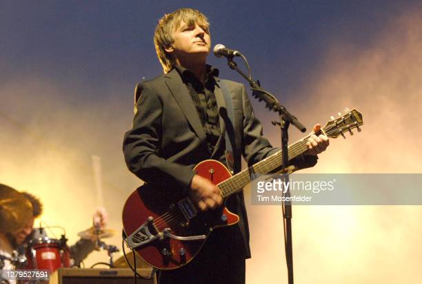 Neil Finn of Crowded House performs during Coachella 2007 at the Empire Polo Fields on April 29, 2007 in Indio, California.