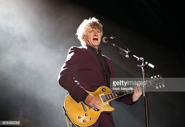 Neil Finn of Crowded House performs on stage during the 'Encore' tour at Sydney Opera House on November 24 2016 in Sydney Australia
