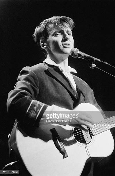 Neil Finn, vocal, performs with Crowded House at the Roxy on June 4th 1997 in Amsterdam, Netherlands.