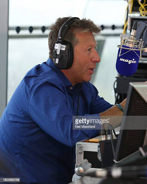 Neil Fox attends Magic 1054 FM's Live broadcast promoting London's Biggest Breakfast fundraising event on Thursday 12th September 2013 hosted by The...