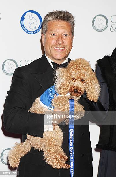 Neil Fox attends the Collars Coats Gala Ball at Battersea Evolution on November 8 2012 in London England