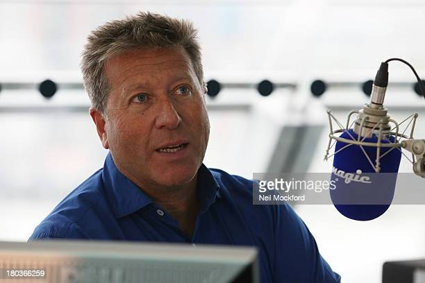 Neil Fox attendst Magic 1054 FM's Live broadcast promoting London's Biggest Breakfast fundraising event on Thursday 12th September 2013 hosted by The...