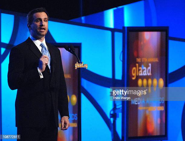 Neil G. Guiliano, President of GLAAD during 17th Annual GLAAD Media Awards Presented By Absolut Vodka - Show at Marriott Marquis in New York City,...