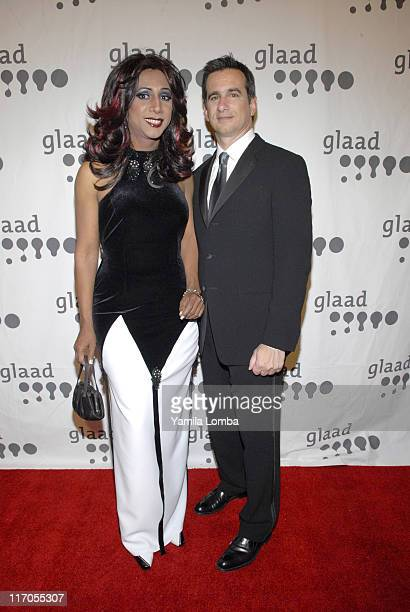 Neil Giuliano and Mari Trini during 18TH ANNUAL GLAAD MEDIA AWARDS Miami at JW Marriott in Miami Florida United States