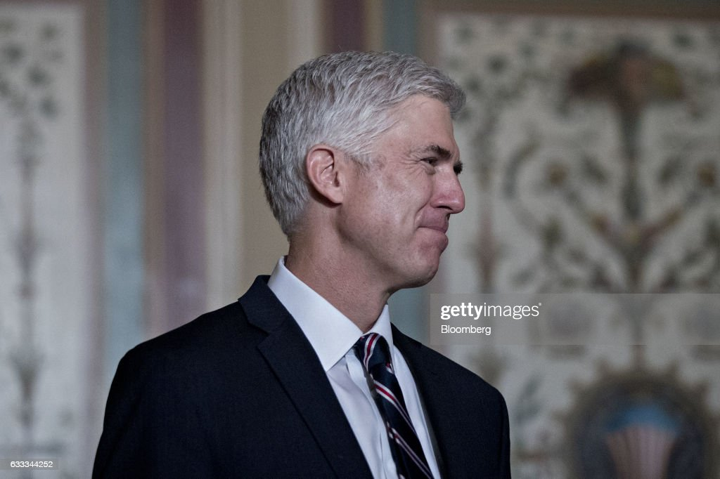 Supreme Court Nominee Neil Gorsuch Attends News Conference With Senator Grassley