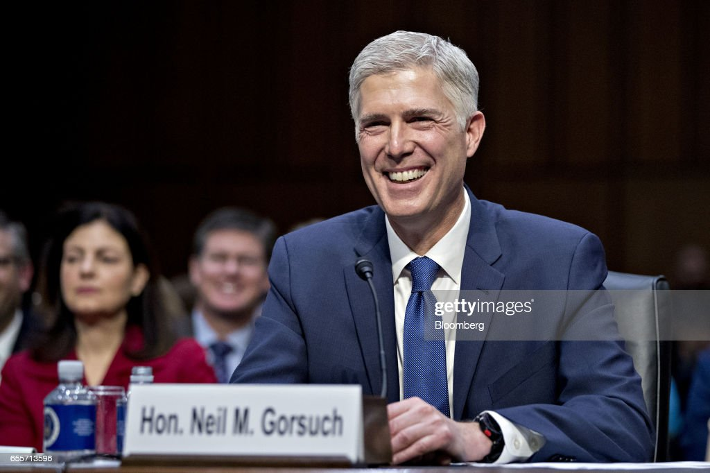 Confirmation Hearing For Supreme Court Nominee Neil Gorsuch