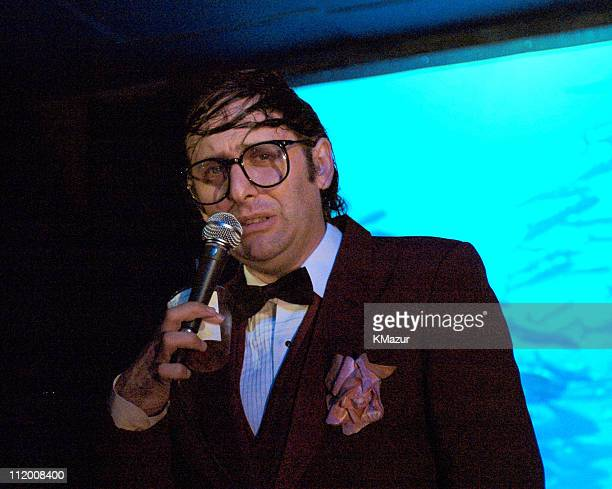 Neil Hamburger during A Perfect Circle Launches Their New DVD Lost in the Bermuda Triangle at Coral Room in New York City New York United States