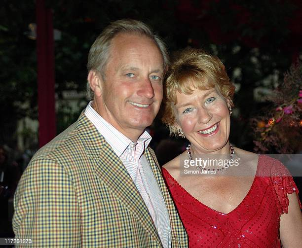 Neil Hamilton and Christine Hamilton during The Pimlico Road Association – Street Celebration at Pimlico Road in London Great Britain