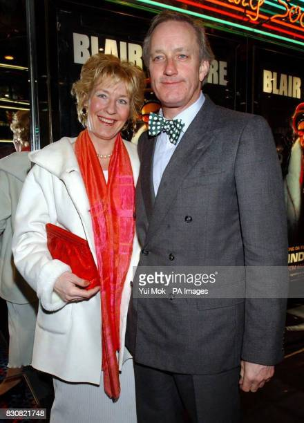 Neil Hamilton and his wife Christine arriving at the Empire Cinema in London's Leicester Square for the premiere of Ali G InDaHouse