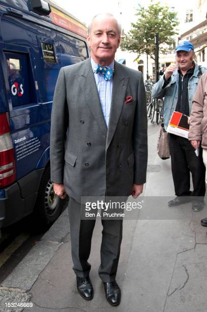 Neil Hamilton attends the memorial service for Victor Spinetti at St Paul's Church on October 2 2012 in London England