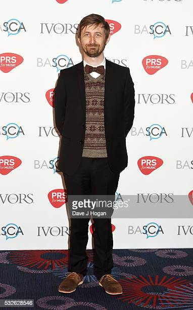 Neil Hannon arrives for the Ivor Novello Awards at Grosvenor House on May 19 2016 in London England