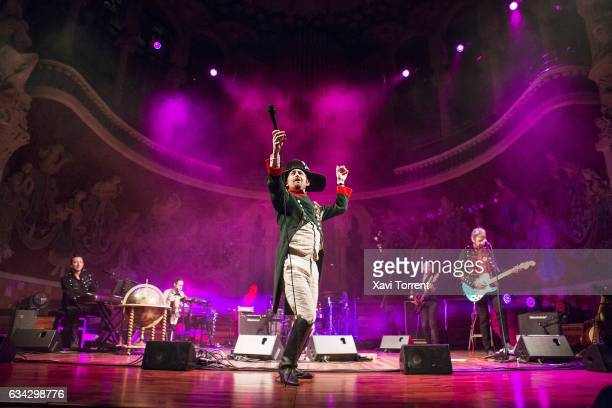 Neil Hannon of The Divine Comedy performs in concert at Palau de la Música Catalana on February 8 2017 in Barcelona Spain