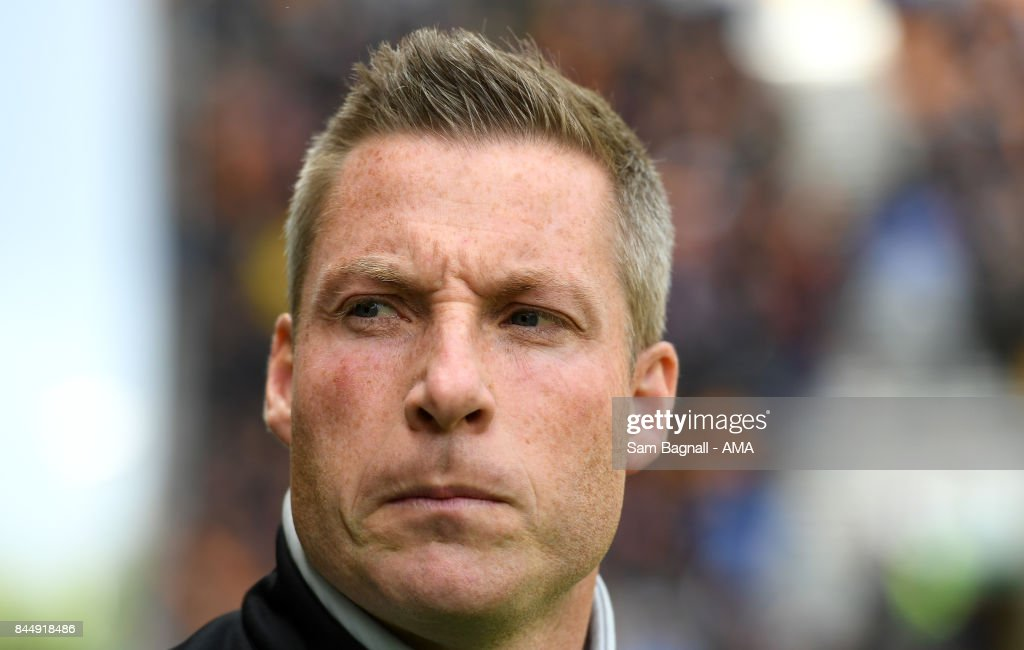 Neil Harris manager / head coach of Millwall during the Sky Bet Championship match between Wolverhampton and Millwall at Molineux on September 9, 2017 in Wolverhampton, England.