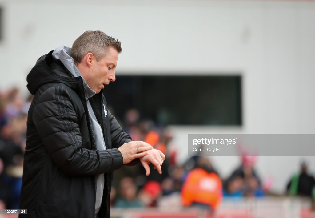 Stoke City v Cardiff City - Sky Bet Championship : News Photo
