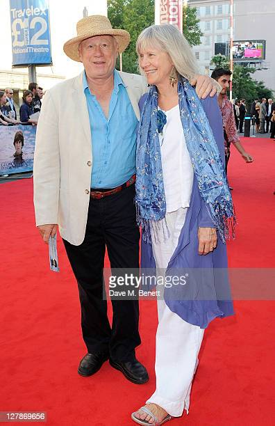 Neil Innes arrives at the UK Premiere of 'George Harrison Living In The Material World' at BFI Southbank on October 2 2011 in London England