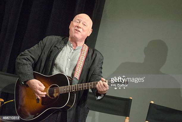 Neil Innes attends 50 Years The Beatles panel discussion at Ed Sullivan Theater on February 9 2014 in New York City