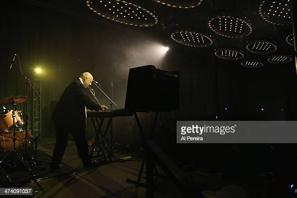Neil Innes performs on keyboards at the Fest For Beatles Fans 2014 at Grand Hyatt New York on February 8 2014 in New York City