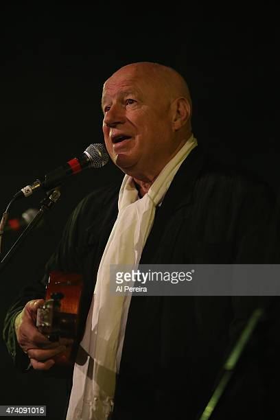 Neil Innes performs on Ukelele at the Fest For Beatles Fans 2014 at Grand Hyatt New York on February 8 2014 in New York City
