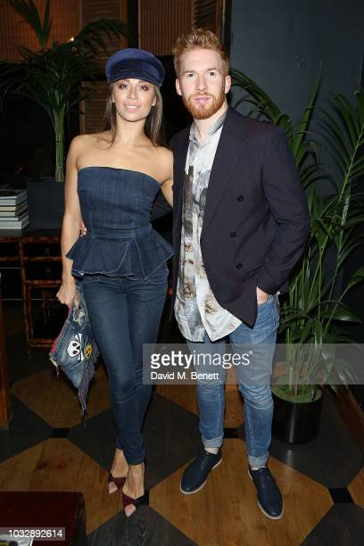 Neil Jones and Katya Jones attend the Blakes Hotel 40th Birthday Party on September 13 2018 in London England