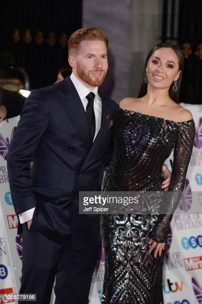 Neil Jones and Katya Jones attend the Pride of Britain Awards 2018 at The Grosvenor House Hotel on October 29 2018 in London England