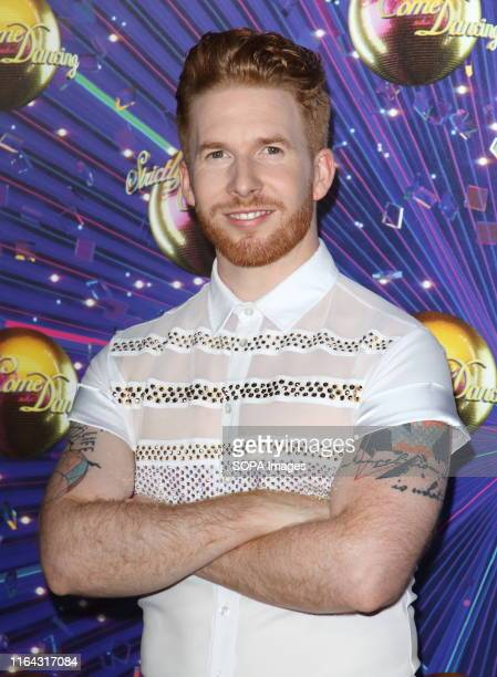 Neil Jones at the Strictly Come Dancing Launch at BBC Broadcasting House in London
