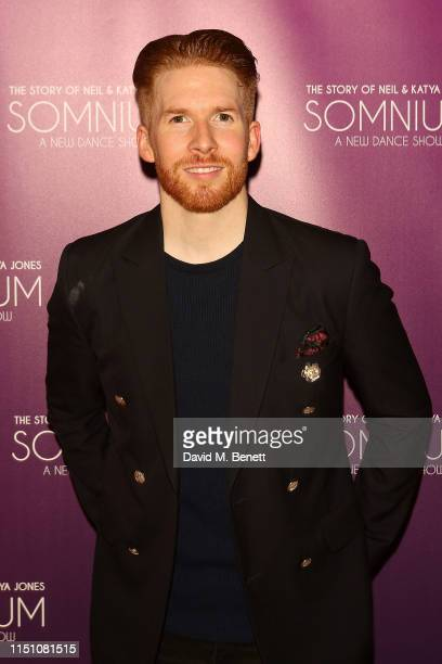 Neil Jones attends press night after party for Somnium A Dancer's Dream at Sadler's Wells Theatre on June 20 2019 in London England