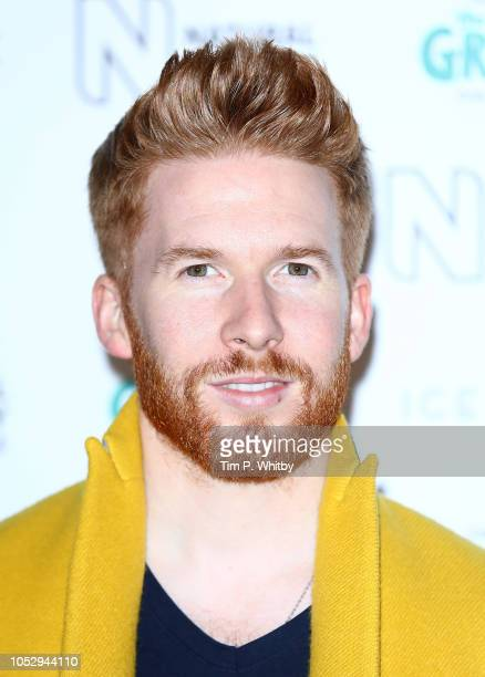 Neil Jones attends the Natural History Museum Ice Rink VIP launch night at Natural History Museum Ice Rink on October 24 2018 in London England
