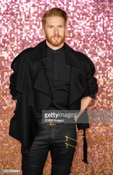Neil Jones attends the World Premiere of 'Bohemian Rhapsody' at SSE Arena Wembley