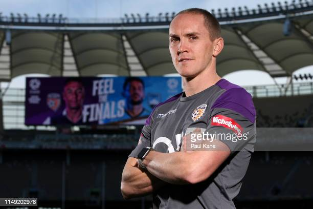 Neil Kilkenny poses during a Perth Glory ALeague media session at Optus Stadium on May 15 2019 in Perth Australia