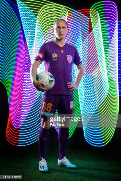 Neil Kilkenny poses during the Perth Glory 2019/20 ALeague Headshots Session at Glory HQ on September 12 2019 in Perth Australia