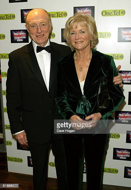 Neil Kinnock and his wife Glenys Kinnock arrive at the British Comedy Awards 2004 at London Television Studios on December 22 2004 in London